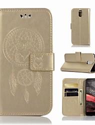 Недорогие -Кейс для Назначение Nokia Nokia 3.1 Кошелек / Бумажник для карт / со стендом Чехол Сова Твердый Кожа PU для Nokia 3.1