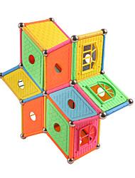 Недорогие -Магнитные палочки / Магнитные плитки 84 pcs Геометрический узор Все Подарок