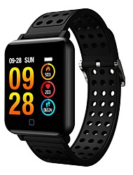 cheap -Smart Bracelet Smartwatch M19 for Android 4.3 and above / iOS 7 and above Heart Rate Monitor / Blood Pressure Measurement / Calories Burned / Touch Screen / New Design Timer / Stopwatch / Pedometer
