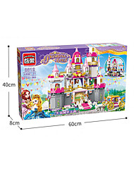cheap -Building Blocks 938 pcs Princess Creative Focus Toy Play With Apple Logo Funny All Boys' Girls' Toy Gift