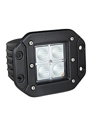 cheap -Lights Maker 1 Piece Car Light Bulbs 12 W SMD 3030 4 LED Fog Light For universal All years