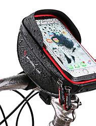 abordables -Wheel up Bolso del teléfono celular / Bolsa para Manillar 6 pulgada Ciclismo para Ciclismo