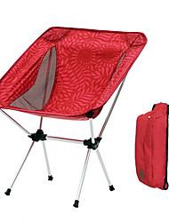 cheap -Camping Folding Chair Outdoor Lightweight, Folding Aluminium alloy for Fishing / Beach / Camping - 1 person Dark Blue / Fuchsia / Coffee