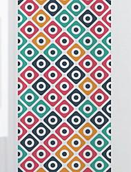 Недорогие -Оконная пленка и наклейки Украшение Обычные Геометрический принт ПВХ Стикер на окна / Новый дизайн