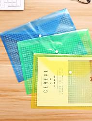 baratos -5 pcs transparente a4 documento de papel saco de arquivo de bolso organizador de armazenamento de escritório