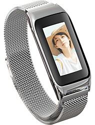 baratos -JSBP B42 Pulseira inteligente Android iOS Bluetooth Impermeável Monitor de Batimento Cardíaco Medição de Pressão Sanguínea Tela de toque Calorias Queimadas Podômetro Aviso de Chamada Monitor de