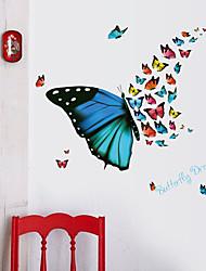 abordables -Autocollants muraux décoratifs - Autocollants muraux animaux Animaux Salle de séjour / Chambre à coucher / Salle de bain