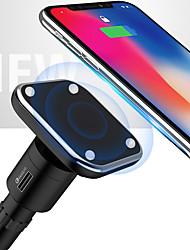 Недорогие -девять пять nc1 2 в 1 высокопроизводительном магнитном автомобильном беспроводном зарядном устройстве для Apple iphone x iphone 8plus samsung s8