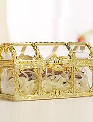 baratos -Cubóide Plástico Suportes para Lembrancinhas com Combinação Caixas de Ofertas - 12pcs