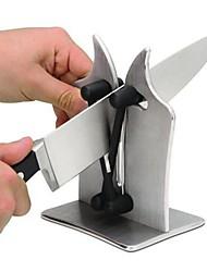 Недорогие -1шт Кухонные принадлежности нержавеющий Творческая кухня Гаджет Устройство для заточки ножей Повседневное использование