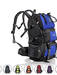 Недорогие -50 L Рюкзаки / Заплечный рюкзак - Дожденепроницаемый, Пригодно для носки, Воздухопроницаемость На открытом воздухе Пешеходный туризм, Походы, Велоспорт Оксфорд Красный, Синий, Серый