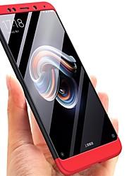 Недорогие -Кейс для Назначение Xiaomi Xiaomi Redmi Note 5 Pro / Xiaomi Redmi Примечание 5 Покрытие Кейс на заднюю панель Однотонный Твердый ПК