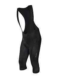 Недорогие -Nuckily Муж. Велошорты-комбинезоны Велоспорт Шорты с защитой Однотонный Полиэстер, Спандекс Черный Средний уровень Одежда для велоспорта / Слабоэластичная