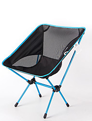 cheap -BEAR SYMBOL Camping Folding Chair Outdoor Lightweight, Rain-Proof, Breathability Oxford Cloth, 7075 Aluminium for Fishing / Hiking / Camping - 1 person Blue