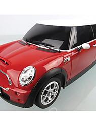 baratos -Carro com CR Rastar 15000 4CH 27MHz Carro 1:24 8 km/h KM / H Controle Remoto / Luminoso