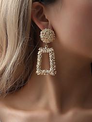 preiswerte -Damen Tropfen-Ohrringe - Kreativ Geometrisch, Hyperbel, überdimensional Silber / Gelb / Rot Für Party Strasse Bar