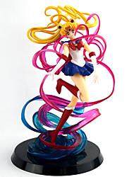 preiswerte -Anime Action-Figuren Inspiriert von Sailor Moon Sailor Moon PVC 18 cm CM Modell Spielzeug Puppe Spielzeug