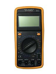 Недорогие -dt9208a.1 портативный цифровой мультиметр lcd для дома и автомобиля