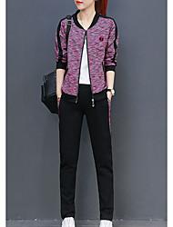cheap -Women's Set - Color Block Pant