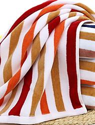 cheap -Superior Quality Wash Cloth, Lines / Waves 100% Cotton Bathroom 1 pcs