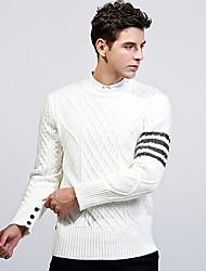 cheap -Men's Basic Pullover - Striped