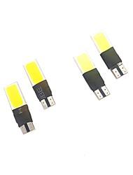 Недорогие -1 комплект белый желтый цвет двойного цвета 99% модели автомобилей подходящий 5w 400lm t10 ширина свет чтения света номерного знака