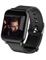 billige -Smart Armbånd JSBP-Z02 for Android 4.4 og iOS 8.0 eller nyere Pulsmåler / Vandtæt / Blodtryksmåling / Brændte kalorier / Lang Standby Skridtæller / Samtalepåmindelse / Aktivitetstracker