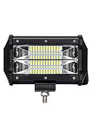 Недорогие -1 шт. Нового поколения светодиодный чип 72w 3030 24smd 6500k led suv atv engineering truck work light