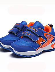 cheap -Girls' Shoes Mesh Fall & Winter Comfort Sneakers Walking Shoes Buckle for Kids Blue / Pink / Royal Blue / Slogan