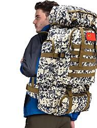 Недорогие -70 L Рюкзаки / Заплечный рюкзак - Дожденепроницаемый, Пригодно для носки На открытом воздухе Охота, Пешеходный туризм, Походы Нейлон Зеленый, Небесно-синий + белый, Камуфляжный