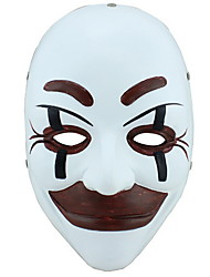 cheap -Holiday Decorations Halloween Decorations Halloween Masks Party / Decorative / Cool White 1pc