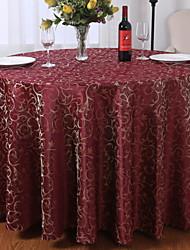 Недорогие -Современный 100 г / м2 полиэфирный стреч-трикотаж / Нетканые Круглый Скатерти Геометрический принт Настольные украшения 1 pcs