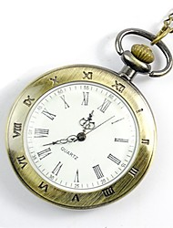 Недорогие -Муж. Карманные часы Цифровой Золотистый Повседневные часы Cool Аналоговый На каждый день Мода - Золотой
