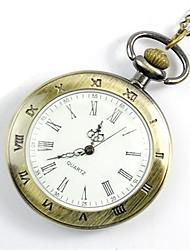 baratos -Homens Relógio de Bolso Digital Relógio Casual Legal Lega Banda Analógico Casual Fashion Dourada - Dourado