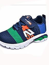 cheap -Boys' Shoes Mesh Fall & Winter Comfort Sneakers Walking Shoes Buckle for Kids Black / Dark Blue / Pink / Slogan
