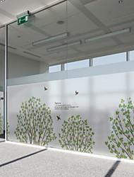 abordables -Film de fenêtre et autocollants Décoration Ordinaire Fleur PVC Autocollant de Fenêtre