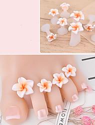 abordables -8pcs Nail DIY Outils Design Tendance Romance Manucure Manucure pédicure Silicone Fleur Usage quotidien