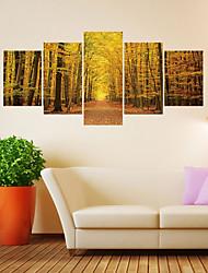 Недорогие -Декоративные наклейки на стены - 3D наклейки Пейзаж / Цветочные мотивы / ботанический Гостиная / Кабинет / Офис