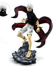 economico -Figure Anime Azione Ispirato da Tokyo Ghoul Ken Kaneki PVC 21 cm CM Giocattoli di modello Bambola giocattolo
