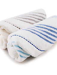 Недорогие -Высшее качество Полотенца для мытья, Геометрический принт Полиэстер / Хлопок Ванная комната 2 pcs
