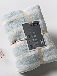 economico -Qualità superiore Telo da bagno, A strisce Misto cotone Bagno 1 pcs