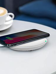 baratos -Promocional hq-s 10 w rápido qi sem fio móvel / telefone celular de carregamento titular / porta de alimentação / pad / estação / carregador para iphone / samsung / nokia / motorola / sony / huawei