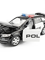 cheap -Toy Car Police car SUV Vehicles Car City View Cool Exquisite Metal Alloy Child's Teenager All Boys' Girls' Toy Gift 1 pcs