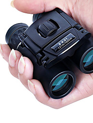 cheap -8 X 21 mm Binoculars Waterproof / Portable / Night Vision Black Camping / Hiking / Hunting and Fishing / Traveling / Porro / Fully Multi-coated / Bird watching