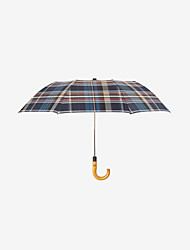 abordables -boy® Tejido / Acero Inoxidable / El material especial Hombre A prueba de Viento / nuevo / Cool Paraguas de Doblar
