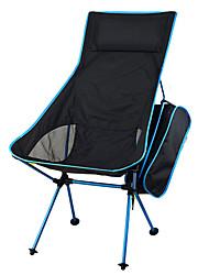 Недорогие -Складное туристическое кресло На открытом воздухе Легкость Алюминий 7075, 600D полиэстер для Рыбалка / Пешеходный туризм / Походы - 1 человек Оранжевый / Красный / Темно-синий