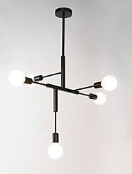 Недорогие -северная европейская люстра 5-фары современные металлические молекулы подвесные светильники гостиная столовая спальня