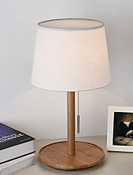 cheap -Modern / Contemporary Table Lamp For Bedroom / Study Room / Office Wood / Bamboo 220-240V Black / Yellow