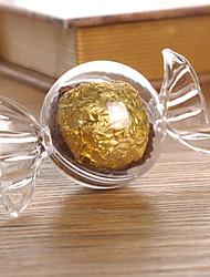 Недорогие -Круглый пластик Фавор держатель с Комбинация материалов Коробочки - 12шт