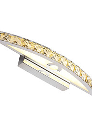cheap -44cm Modern 10W Bathroom Vanity Light  LED Crystal Make Up Mirror Light AC100-240V Bedroom Lighting